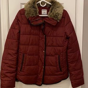 Gorgeous burgundy jacket